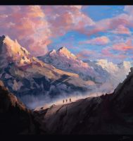Mountain by vincentee