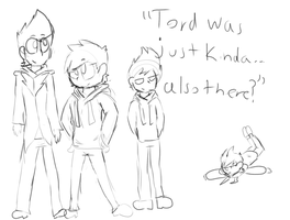 ''Tord was just kinda, also there?'' by SecretGoth-Galaxies