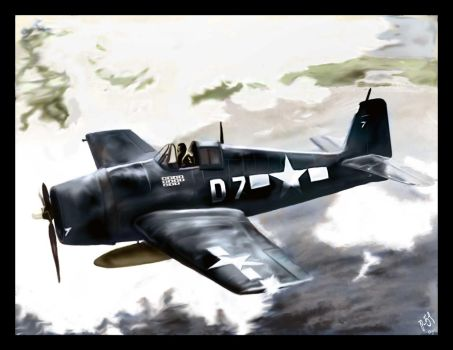 The zero hour - Painting by p-51