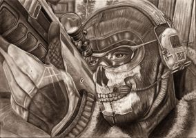 MW2 Ghost WIP Finished by Yankeestyle94