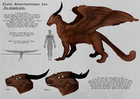 The Winged Lion by dreNerd