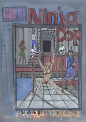 NinjaCop- The Rise of Monsieur Doom Cover BOOK 2 W by FlipFlop1979