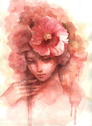 hollyhock by kim-hee-kyoung