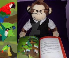 Awesome reading~ Stop the Train Monkey by Deus-Marionette