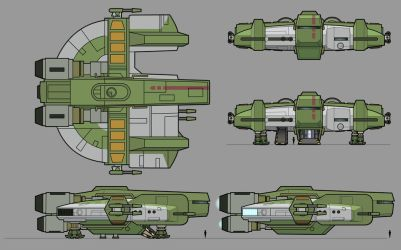 Dynamic Class Freighter by Stephen-Daymond