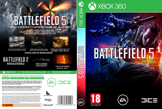BF5 Xbox Cover (PRINT ONLY) (PRANK!!!) by WesleyVianen