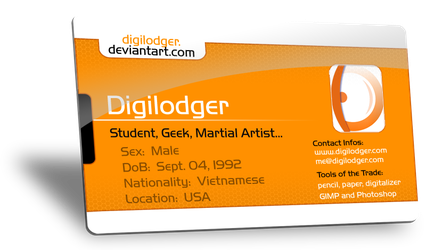 My Deviant ID Card by ThePixelMe