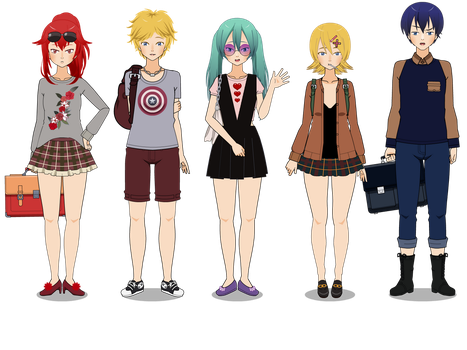 Vocaloschool (with exports) by kari-00