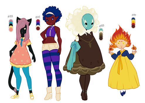 Palette Adoptables [OPEN] by Death2Eden