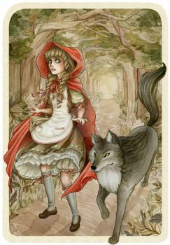 Little Red Riding Hood by theGrayStray