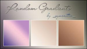 Gradients Gallore by SirenSebastianne