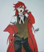 Grell Sutcliff  by MeowImAvery