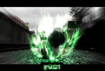 -RU- Faust's Emerald Flame by EdgeFx1