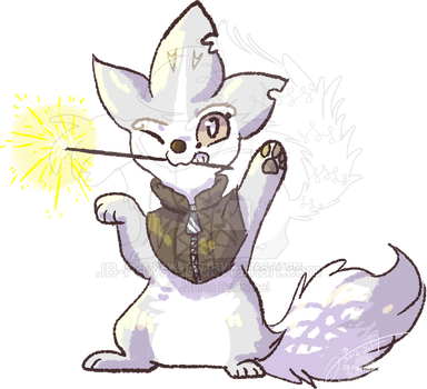 Happy New Year - Chibi Eule by JB-Pawstep