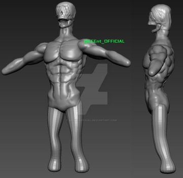 Mangled Man WIP Sculpt 002 by EEEnt-OFFICIAL
