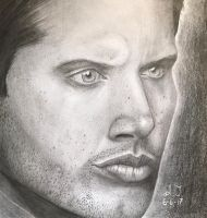 Jensen Ackles by lune-artsy