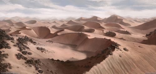 Expanse of Harad by DinoDrawing
