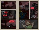 FNAF4 Comic 10 - Nightmares Come - 12-14-15 by Mattartist25