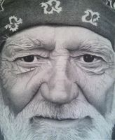 Willie Nelson by rkelc