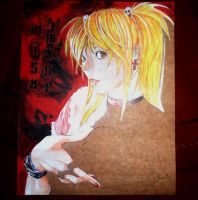 Misa Amane WIP2 DEATH NOTE by j2ag