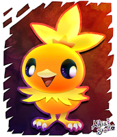 Torchic by AltiaStudio