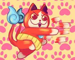 Jibanyan! by KatsLoveSalmon