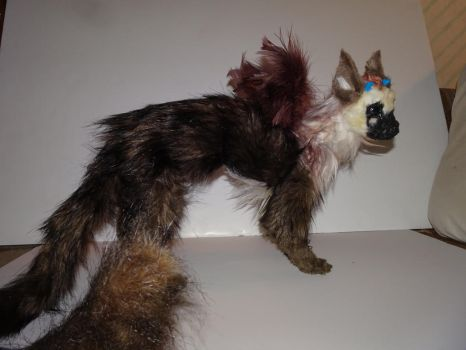 Handmade posable Trico by Lonestarnoctus123