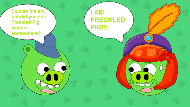 But the Freckled Pig is here! by Princess-Sackboy3659