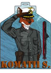 Komatii Convention Badge (Gift) by Iven-Furrpaw