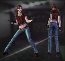 Claire Redfield RE:Code Veronica HD by ViCt0RXD