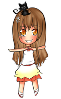 Akane Chibi Commission by Yas-mi-ne