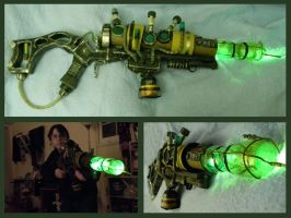 Fallout Plasma Rifle by LunaticStar