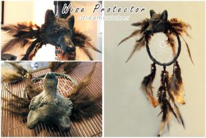 Dream Catchers: Wise Protector by SaQe