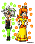 Marie and Daisy by ninpeachlover