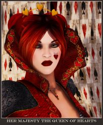 HRM The Queen of Hearts by subvirgins