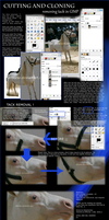 removing tack with GiMP by Skullb3at