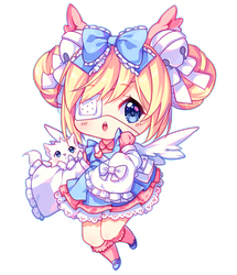 [+Video] Commission - Fluffy cutie by Hyanna-Natsu
