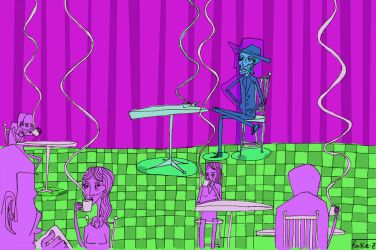 Hip Cafe by therocketshipchair