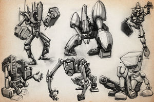 SKETCHBOOK - More Robots by VR-Robotica