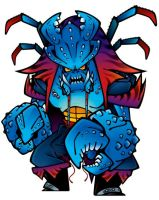 Pirate Nation_crab monster by GRAPEBRAIN