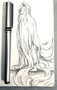 #Inktober - October 18th (2017) by D-ElaineDezso