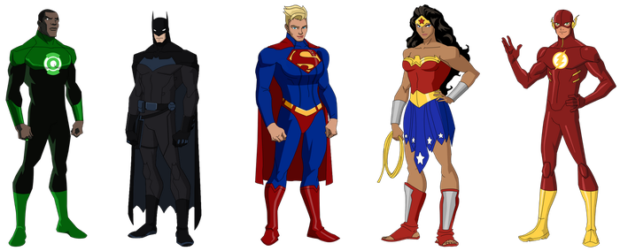 Justice League: 1995 by YNot1989