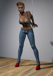 Strappado and jeans 03 by hookywooky