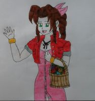 Aerith Gainsborough by JQroxks21