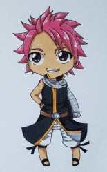 Natsu the little fire eater by Pinny