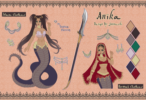 Anika Ref. Sheet by Junneshi