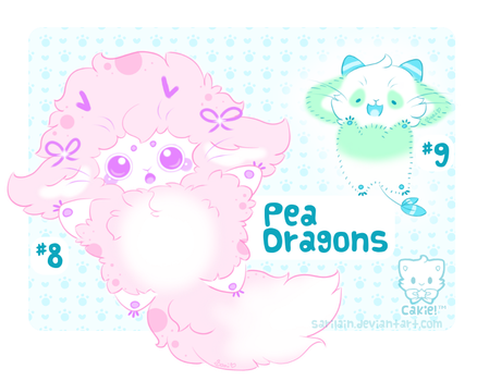 [CLOSED] Pea Dragons #8 - 9 by Sarilain