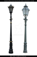 Street Lamp Cut Out 6 by ManicHysteriaStock