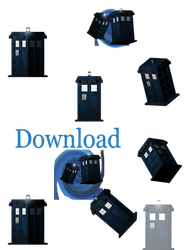 TARDIS (desktop animation download) by JessHavok