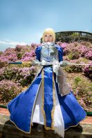 Fate/Stay Night - Saber by Xeno-Photography